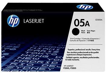 Оригинальный картридж HP CE505A