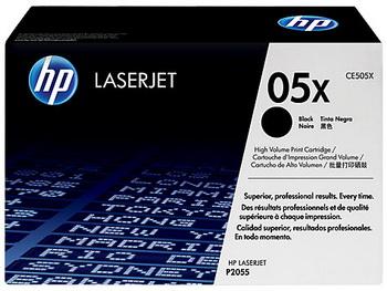 Оригинальный картридж HP CE505X